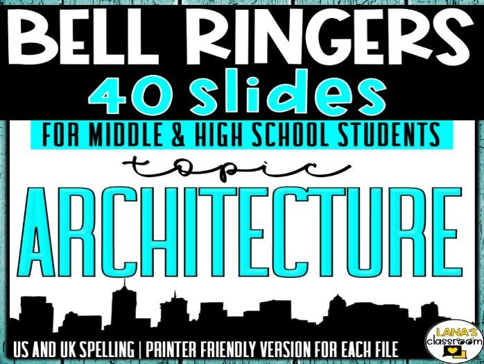 Bell Ringers Questions | Topic: Architecture | Middle and High School