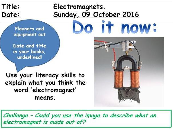 Electromagnets (KS3)