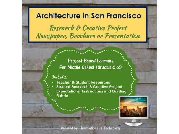 Famous Architectural Landmarks in San Francisco - Research & Creative Technology Project