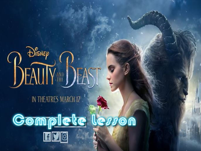 Beauty and the Beast Descriptive Writing Lesson (and bingo)