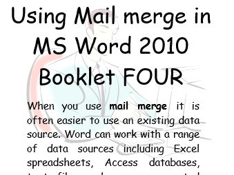 Mail Merge Office 2010  Book 4