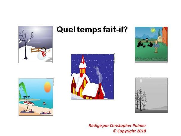 French: The weather