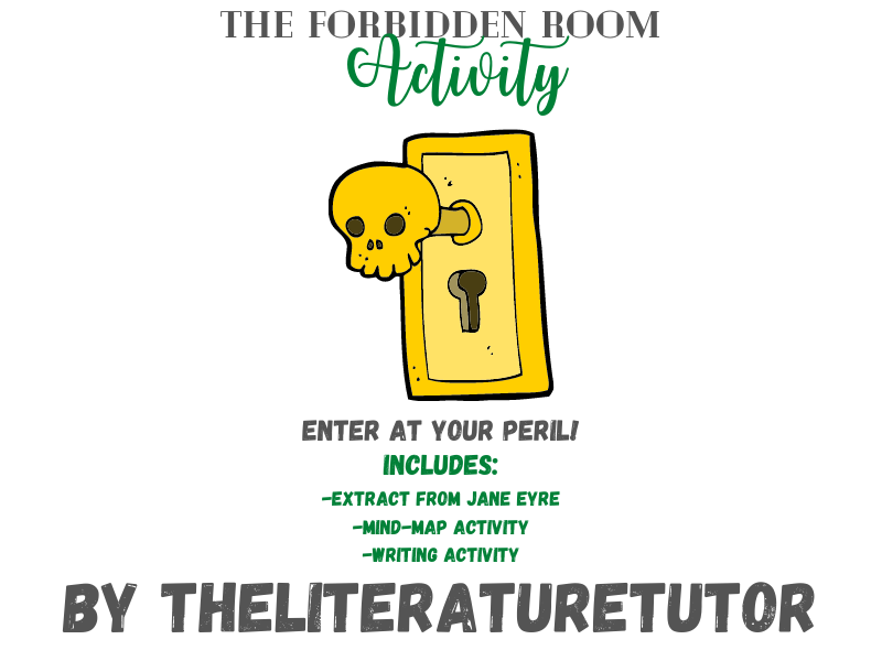 (Remote Learning) Creative Writing: The Forbidden Room Home Learning