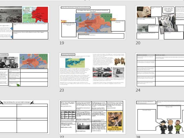 KS3 Unit 'Why was Germany defeated in the second World War'?