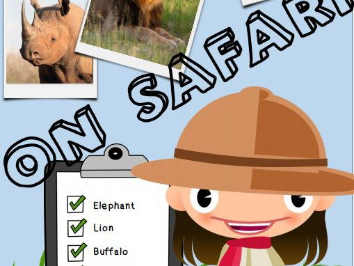 On Safari - Reading activities and questions  (with a bonus link to Kahoot quiz)