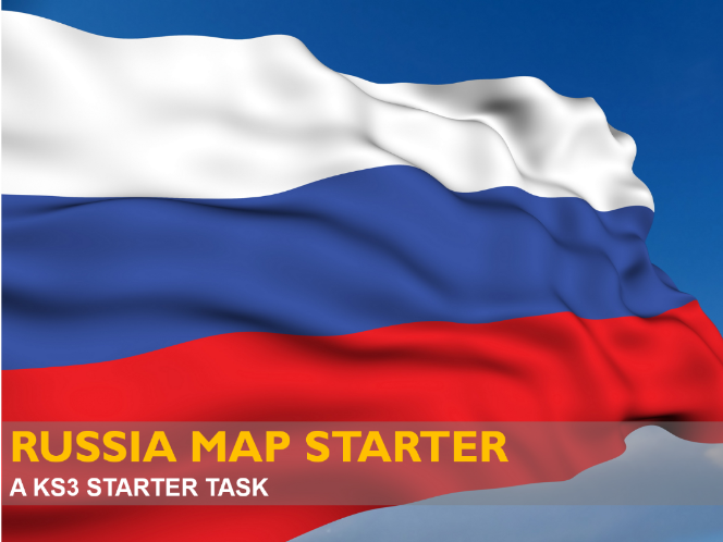 Russia Map Starter Task
