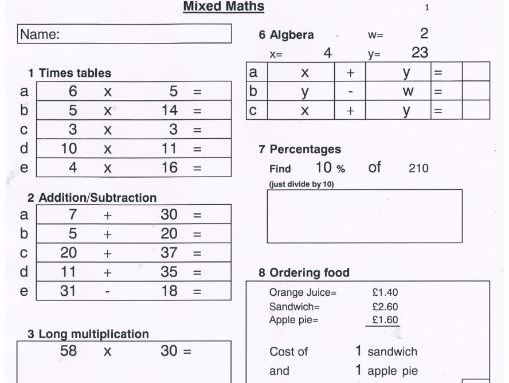 maths worksheet generator  easier version  s of worksheets by  maths worksheet generator  easier version  s of worksheets by  creativemoments  teaching resources  tes