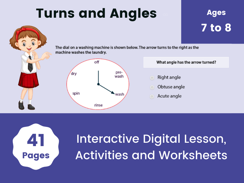 Turns and Angles Year 3 Properties of Shape