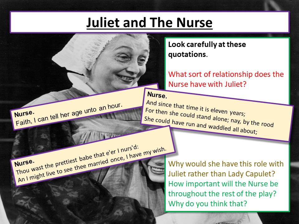 Romeo and Juliet The Nurse