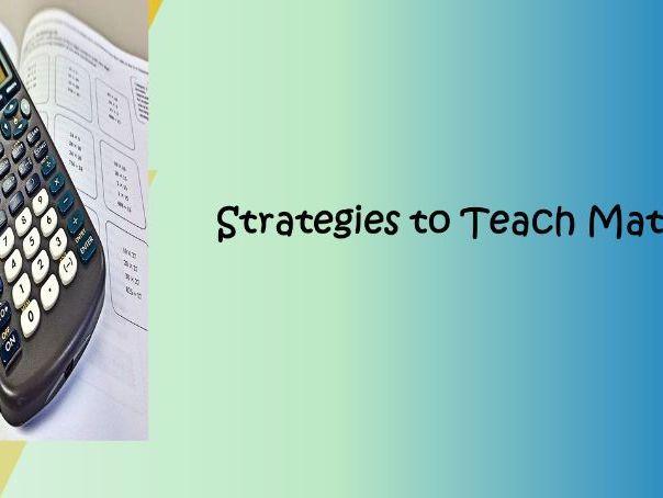 Math Teaching Strategies