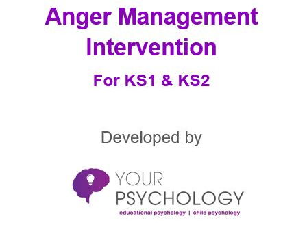 Anger Management 6-week Small Group Intervention Pack