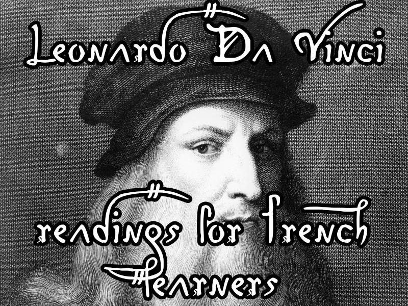 Leonardo da Vinci - reading for French learners