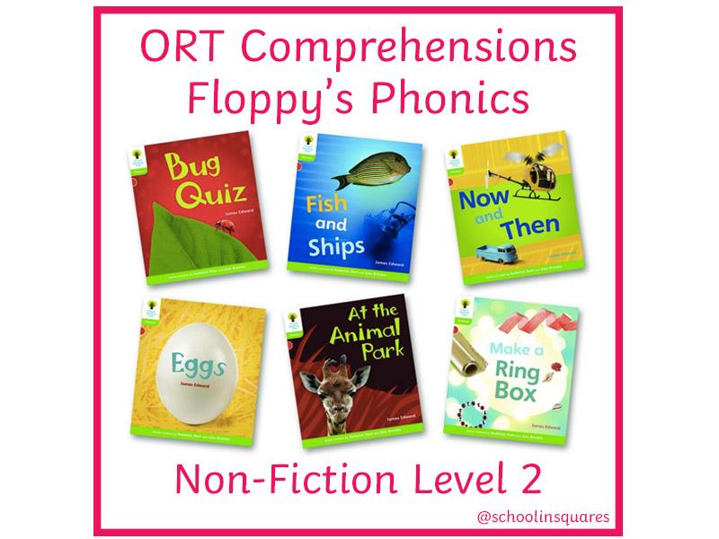 ORT 2 Comprehension Bundle - Floppy's Phonics - Non-Fiction