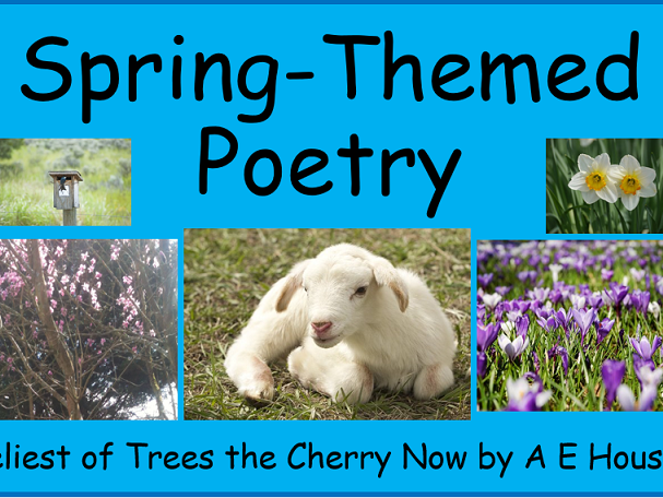 Analyse a poem (Spring themed whole lesson)