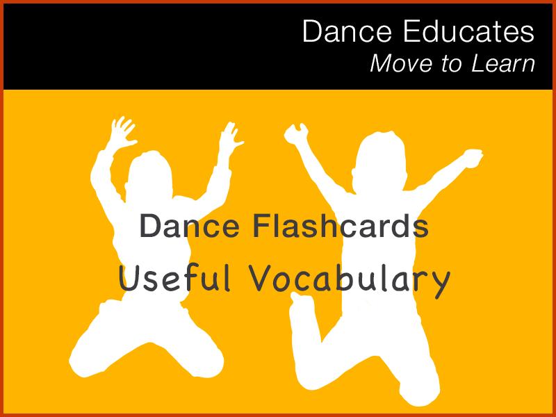 Dance Flashcards: Useful Vocabulary