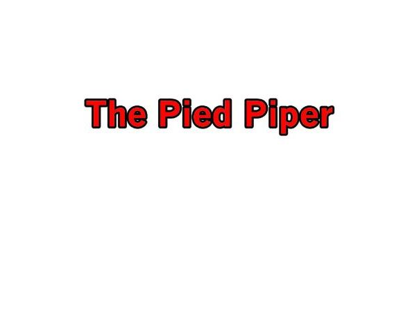 The Pied Piper - Total Song Pack