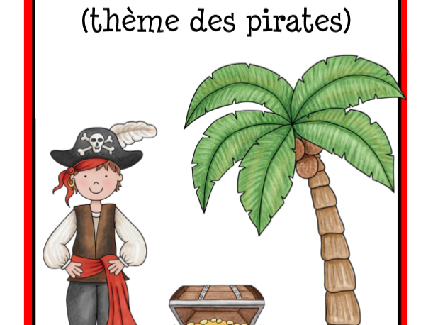 Pirate Calendar in French