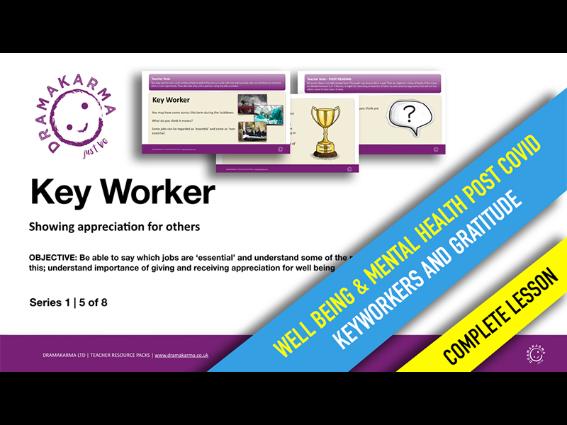 Wellbeing (PHSE) - Keyworkers & Gratitude