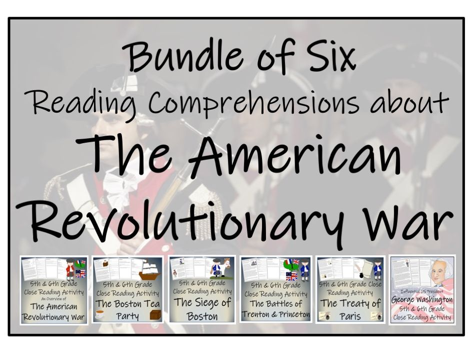 UKS2 History - Bundle of Activities about the American Revolutionary War
