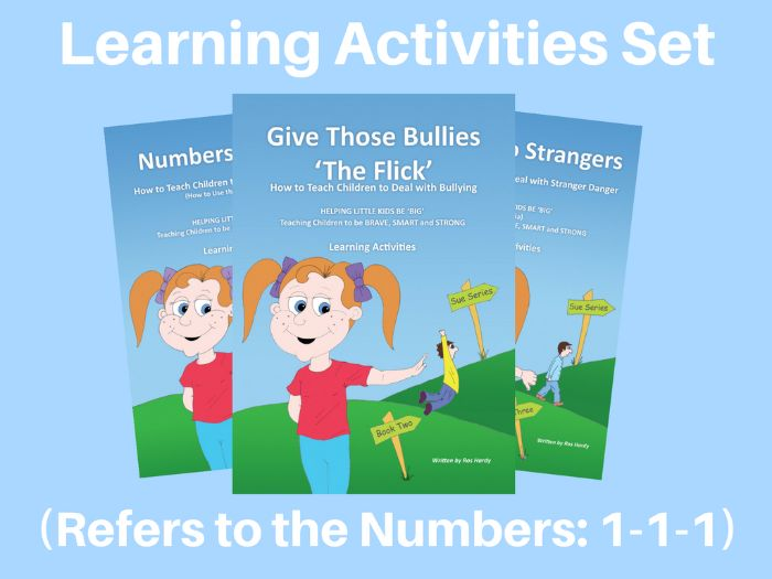 Learning Activities - (NZ) - How to Deal with Emergencies, Bullying and Stranger Danger - '111'