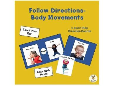 Following Directions-Move Your Body!