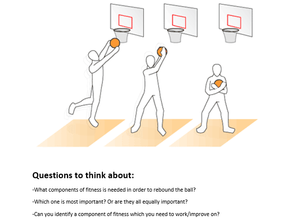 GCSE PE - Components of Fitness in Basketball - Practical Lesson