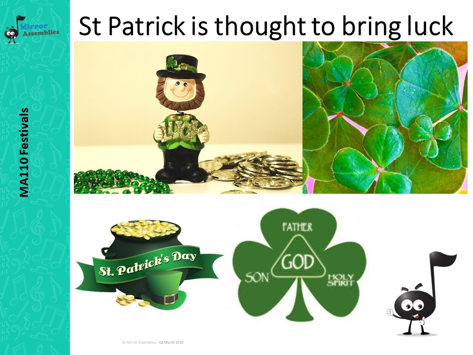 St Patricks Day -For Lower Primary Age Range