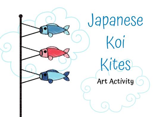 Japanese Koi Kite Art Activity