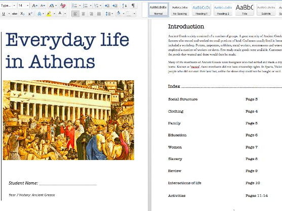 Everyday Life in Athens - Ancient Greece