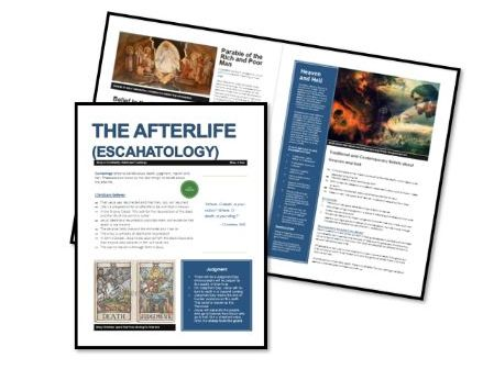 AQA Exam Booklets: Christian Beliefs and Teachings: Afterlife