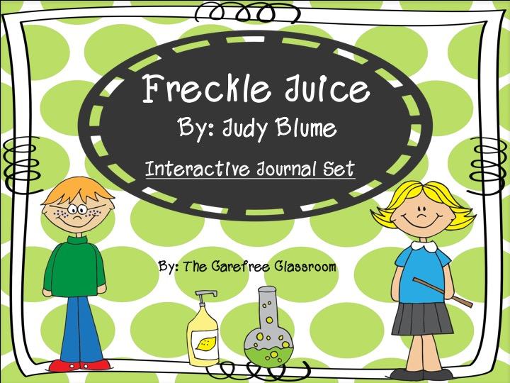 Freckle Juice Interactive Journal Set