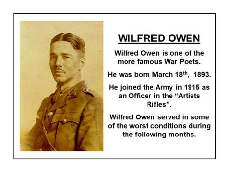 Exposure Poem - Wilfred Owen