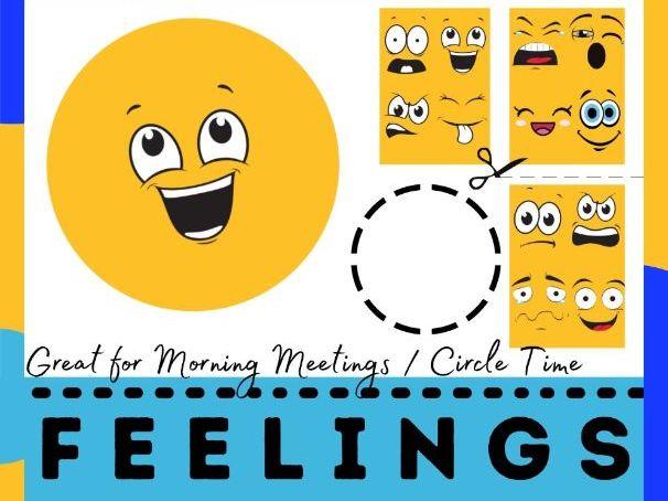 Printable Feelings CutOuts