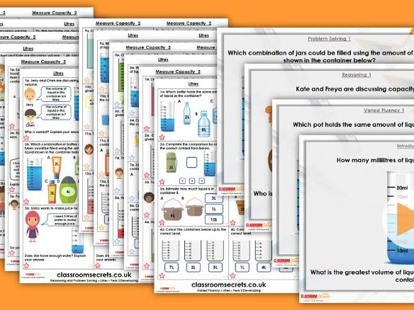 Year 2/3 Mixed Age Summer Block 4 Step 6 Maths Lesson Pack