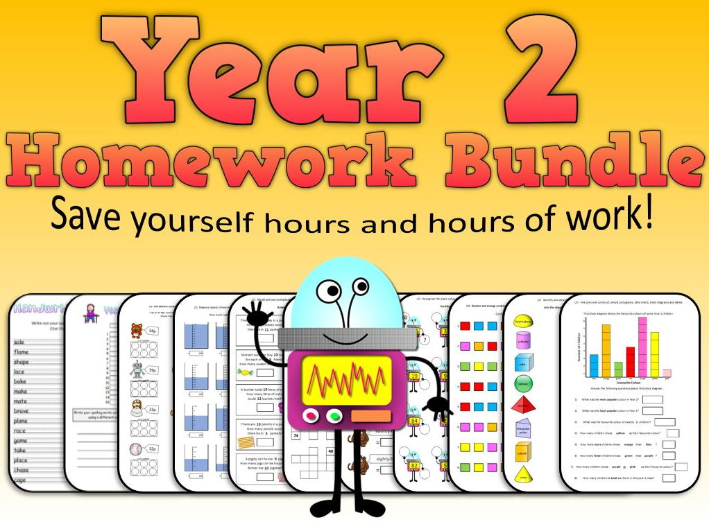 Ultimate Year 2 Homework Bundle