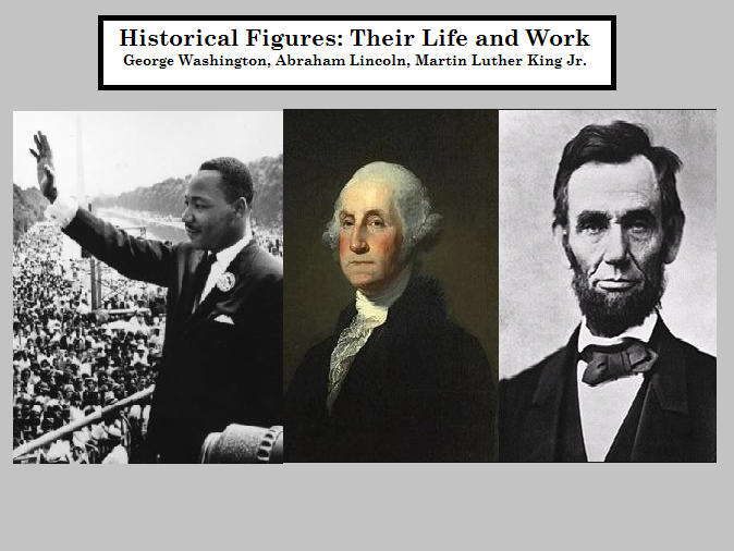 Historical Figures (Washington, Lincoln, King, Susan B Anthony and others) - Biographies - Reading Comprehension Worksheets