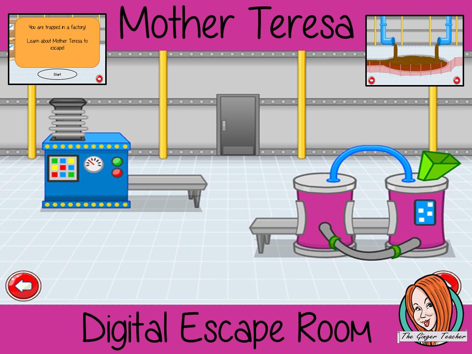 Mother Teresa Escape Room