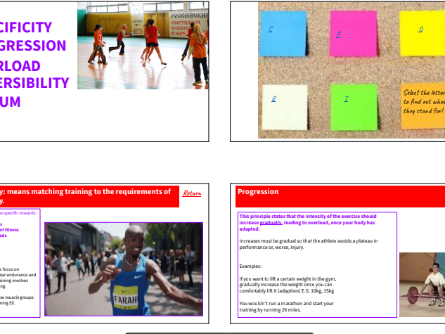 Principles & Methods of Training. Complete Unit of Work. Interactive Choice board activities