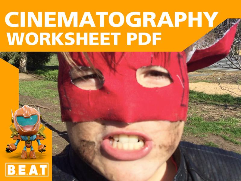 Cinematography Worksheet