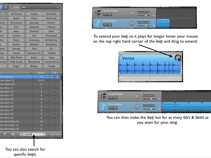 KS3 Music Technology Garageband Guide Gband version 6 PDF