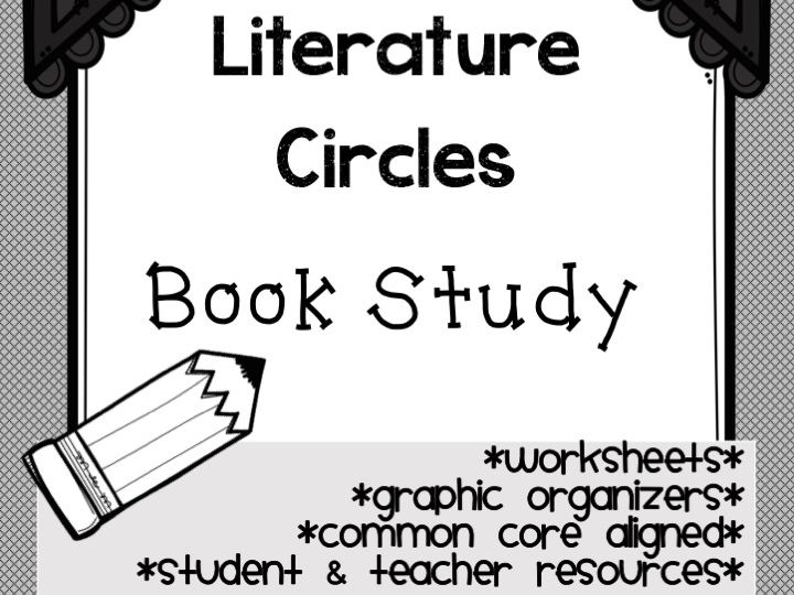 Literacy - General Novel Study Materials