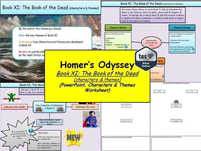 Homer's Odyssey – Book XI: The Book of the Dead (characters & themes)