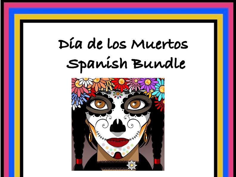 Día de los Muertos: Spanish Day of the Dead Bundle: 5 Resources @40% off!