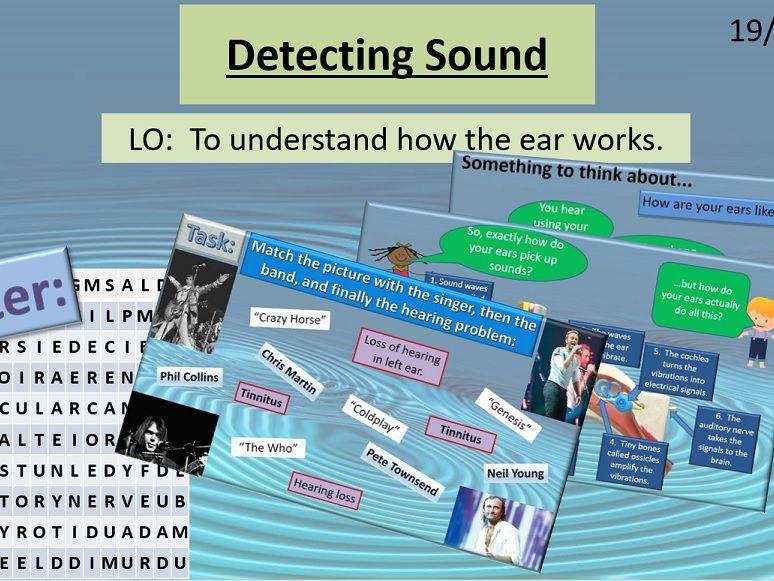Activate 1: P1: 2.4 Detecting Sound