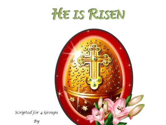 He is Risen - Readers Theatre Script for Easter