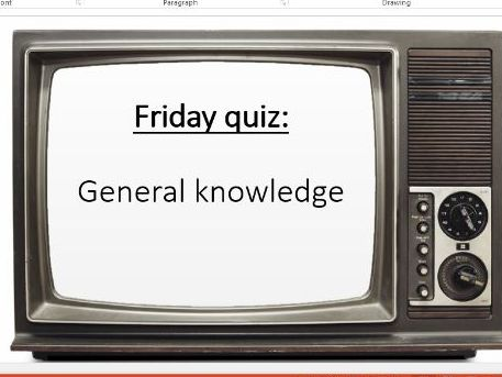 Set of 10 quizzes. Each with 15 questions. General knowledge, film, music, Halloween etc