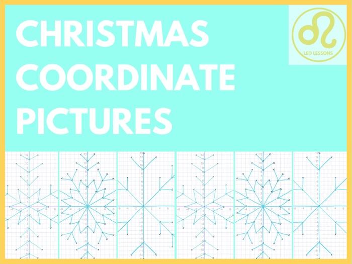 Christmas Coordinates in 4 Quadrants