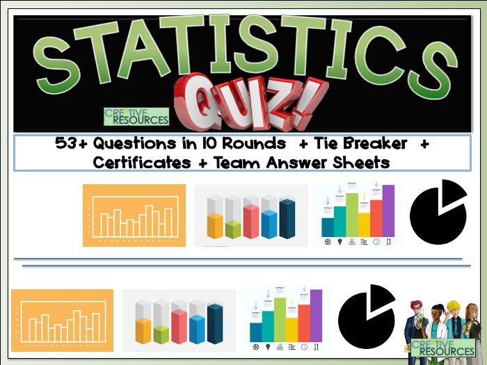 Statistics Maths Quiz