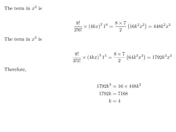 Binomial Expansion Worksheets