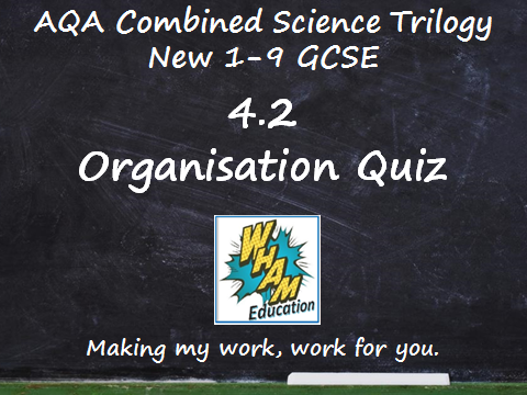 AQA Combined Science Trilogy: 4.2 Organisation Quiz